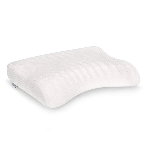 LANGRIA Contoured Egg Crate Memory Foam Pillow