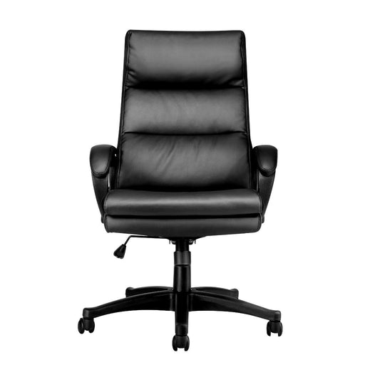 LANGRIA LANGRIA Office Chair High Back Executive Swivel Computer Chair with Faux Ergonomic Padded Seat Back,Recline Extra Padded,Adjustable Height