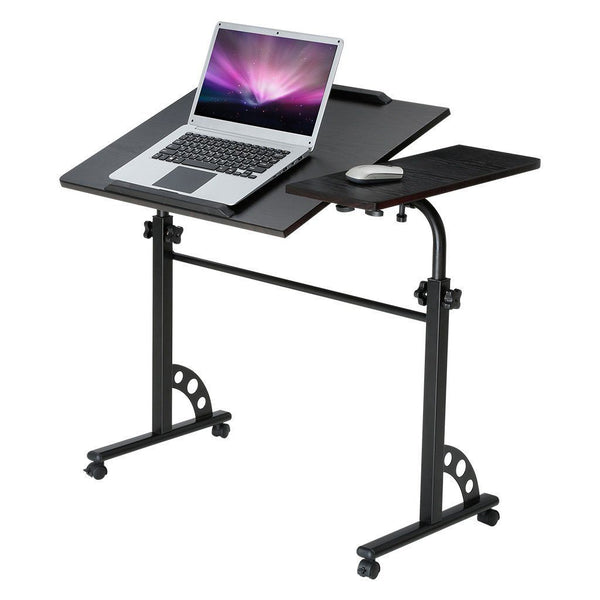 Portable & Adjustable Laptop Cart Mobile Computer Desk