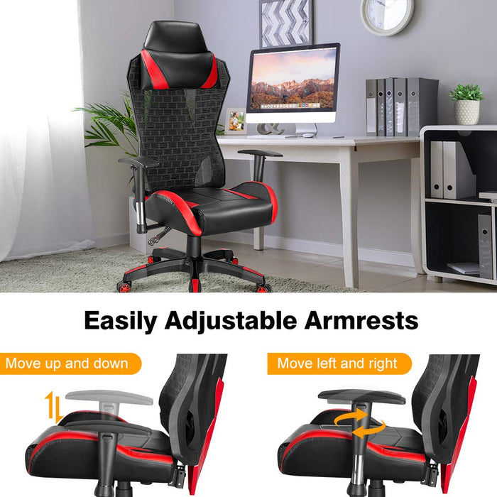 Awe Inspiring Office Chair For Computer Desk Gaming With Tilt Angle High Back Ocoug Best Dining Table And Chair Ideas Images Ocougorg