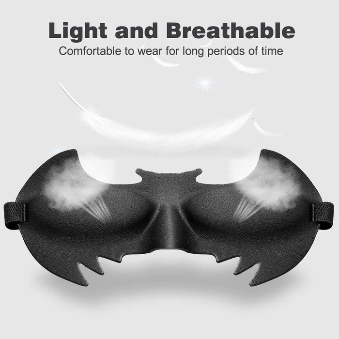 LANGRIA Superhero Eye Mask, Batman