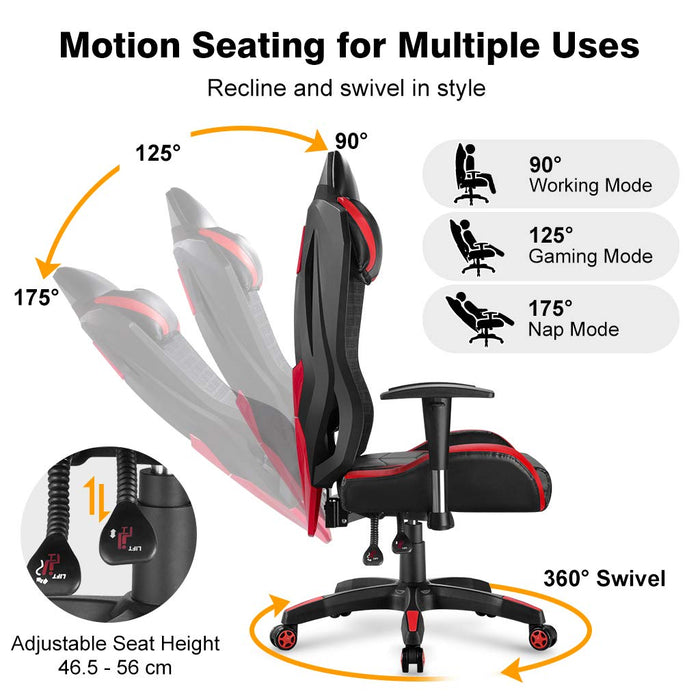 Superb Office Chair For Computer Desk Gaming With Tilt Angle High Back Ocoug Best Dining Table And Chair Ideas Images Ocougorg
