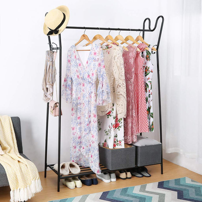 LANGRIA Modern Free-Standing Clothes Rail