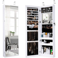 LANGRIA Full-Length Mirror Jewelry Armoire