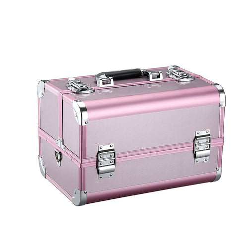 LANGRIA Pro Makeup Train Case (Pink)