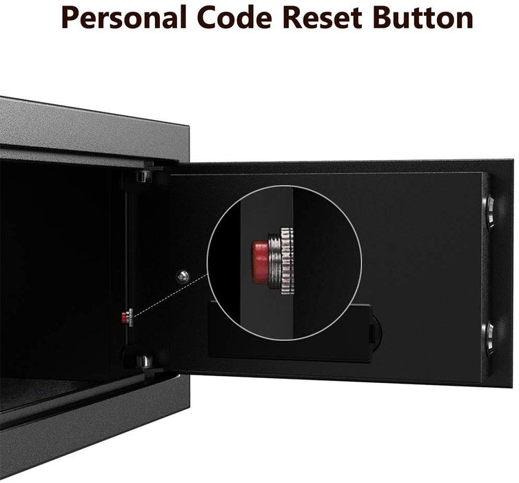 Steel Security Safe Deposit Box with Digital Keypad