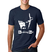 Breaking Bad - Heisenberg's Face T-Shirt-T-Shirt-Trending N-dark blue-M-Trending N
