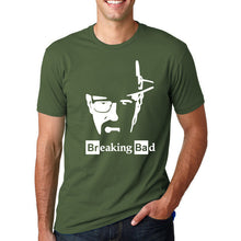 Breaking Bad - Heisenberg's Face T-Shirt-T-Shirt-Trending N-dark green 1-M-Trending N
