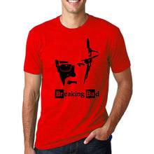 Breaking Bad - Heisenberg's Face T-Shirt-T-Shirt-Trending N-red-M-Trending N
