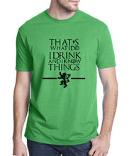 Game of Thrones - I Know Things T-Shirt-T-Shirt-Trending N-Green-S-Trending N