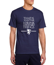 Game of Thrones - I Know Things T-Shirt-T-Shirt-Trending N-navy blue-S-Trending N
