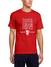 Game of Thrones - I Know Things T-Shirt-T-Shirt-Trending N-red-S-Trending N