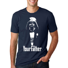 Star Wars - Your Father T-Shirt-T-Shirt-Trending N-dark blue-M-Trending N