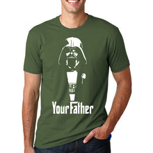 Star Wars - Your Father T-Shirt-T-Shirt-Trending N-dark green-M-Trending N