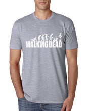 The Walking Dead - Darwinism T-Shirt-T-Shirt-Trending N-Gray-S-Trending N