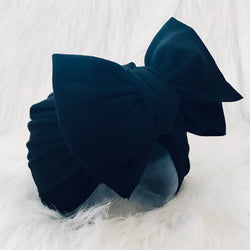 BLACK BIG BOW