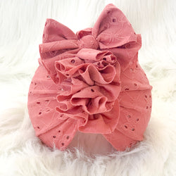 DUSTY ROSE EYELET
