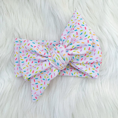 SPRINKLES BOW