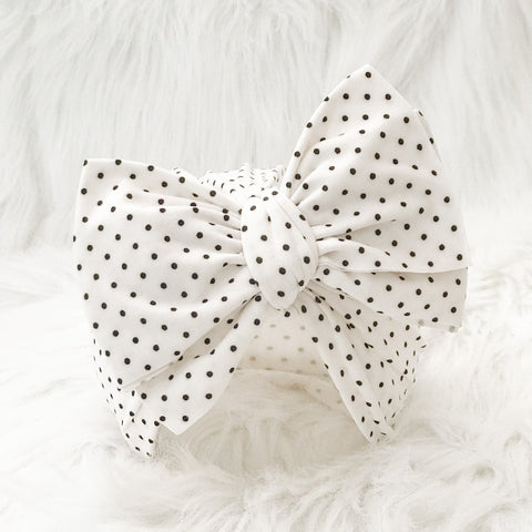 MINI DOTS BIG BOW
