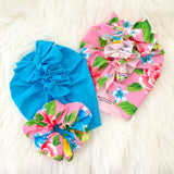 HAWAIIAN GIRL SWIM MAMA SCRUNCHIE