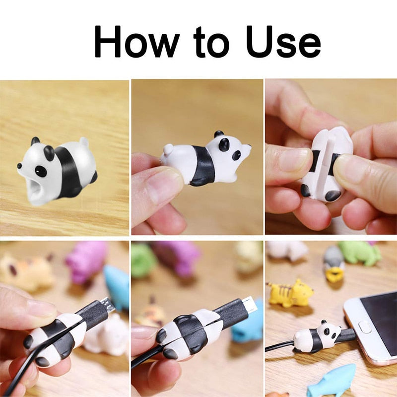 Cute Animal Cable Saver
