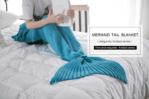 Cozy Mermaid Blanket for Kids