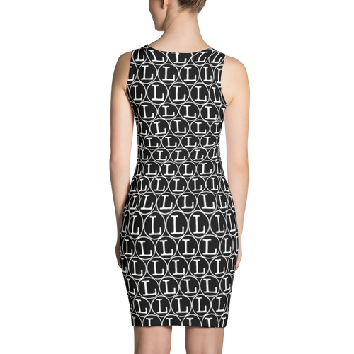 Inverted L Sublimation Cut & Sew Dress