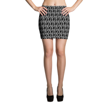 Inverted L Mini Skirt