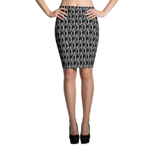 Inverted L Pencil Skirt