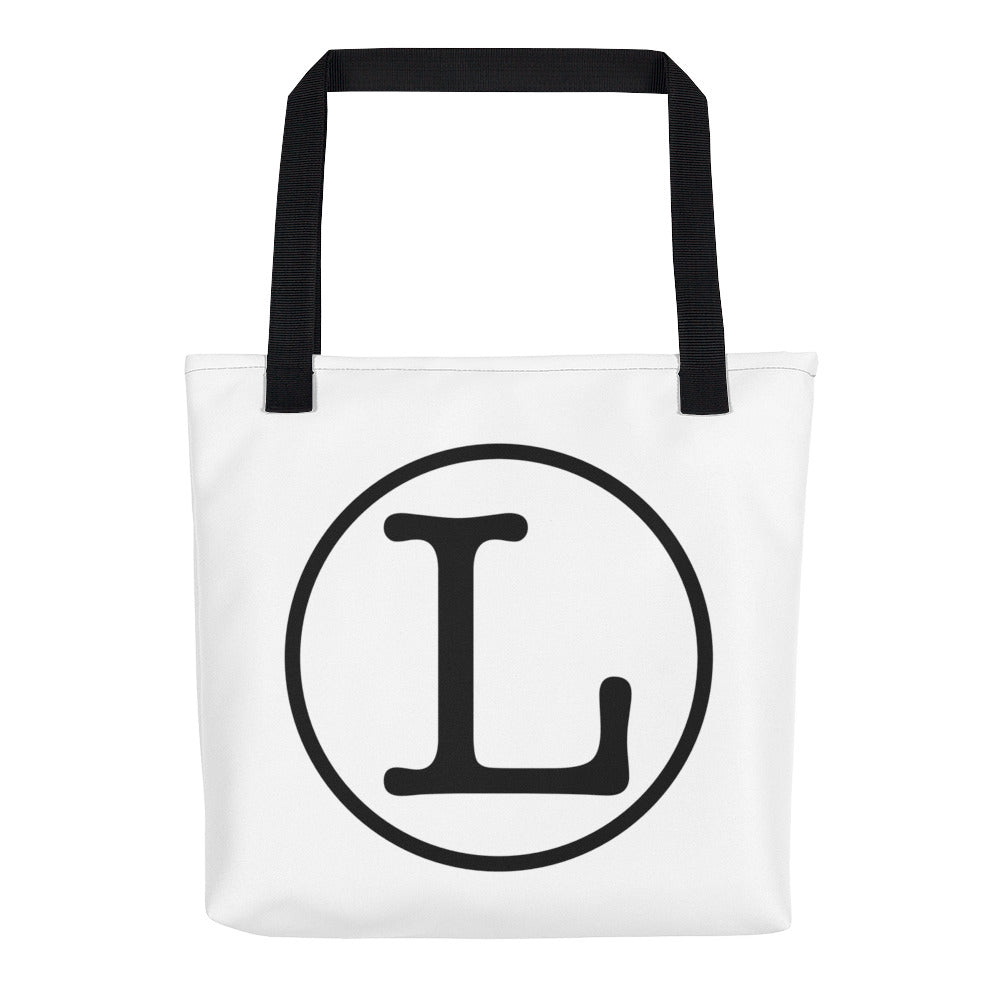 Language L Tote Bag