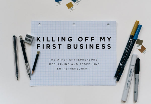 Killing Off My First Business Blog Post