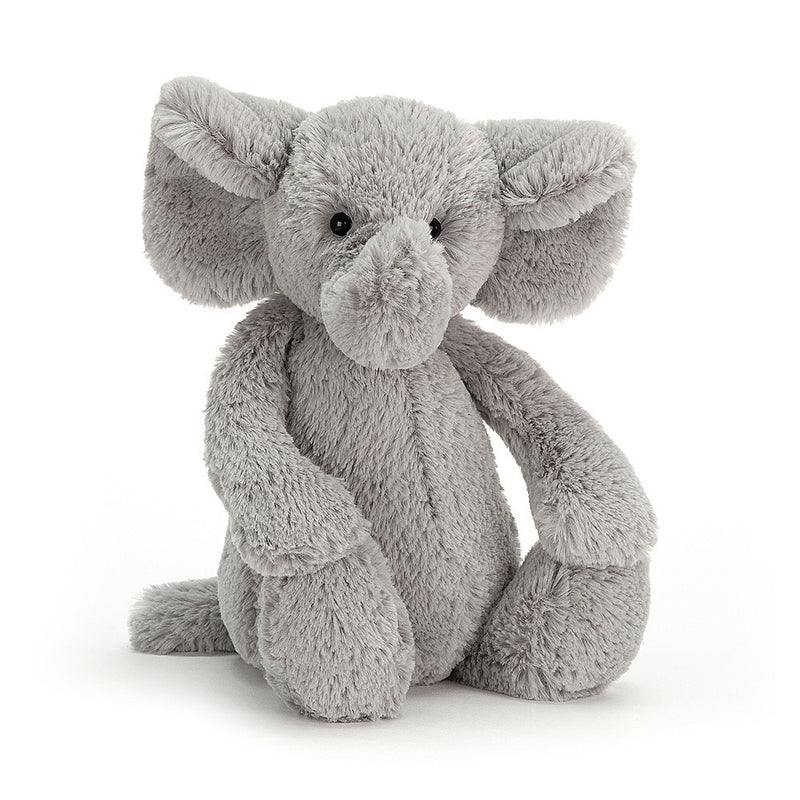 Bashful Grey Elephant Medium