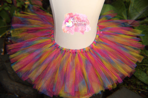 Rainbow Wishes Tutu Skirt