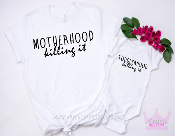Motherhood & Toddlerhood Killin' It Set