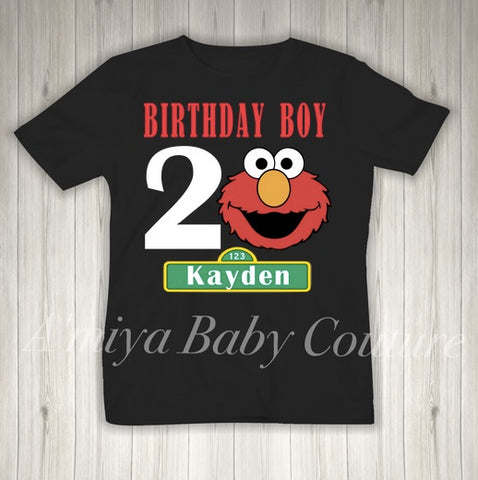 Birthday Collection {Elmo Birthday Boy}