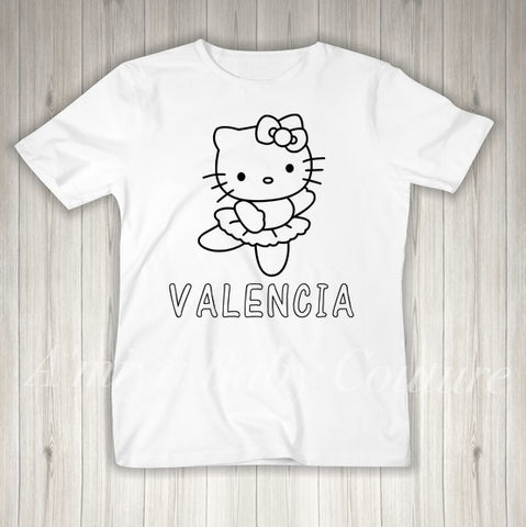 Color Me {Personalized Hello Kitty}