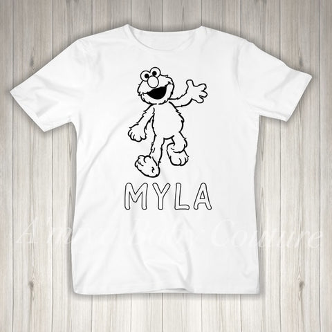 Color Me {Personalized Elmo}