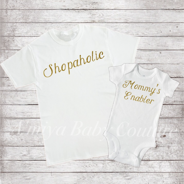 Mommy & Me Set {Mommy's Enabler}