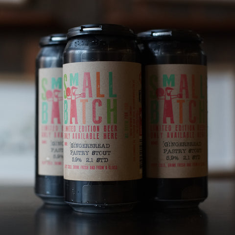 Small Batch Gingerbread Stout (4 Pack)