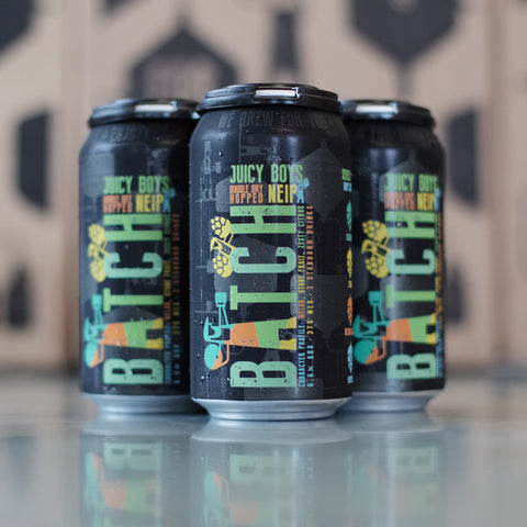 Juicy Boys DDH NEIPA Version #4 (4 Pack)