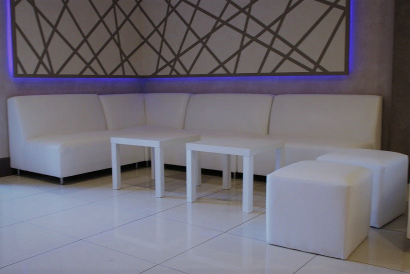 Hollywood Bachelorette Party Club Furniture Rental Package | Seats 9