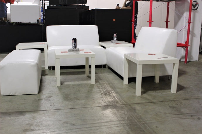 Rave LA Furniture Rental Package | Seats 6