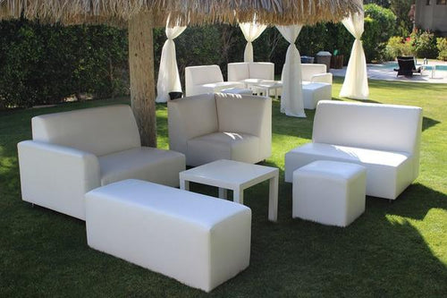 Paradise California Quinceañera Party Furniture Lounge Rental Package | Seats 16