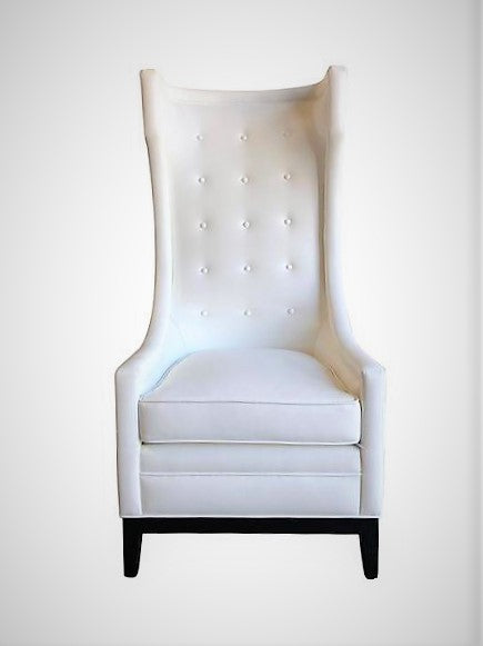 King / Queen Luxury Pearl Throne Chair | Seats 1
