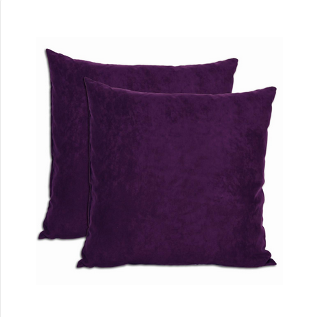 Purple Accent Rental Pillow