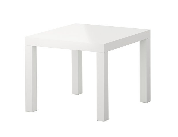 White | Black | Rental End Tables