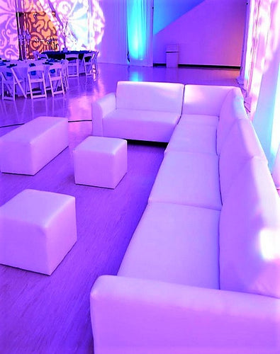 Winter Bridal Shower Party Furniture Rental Package | Seats 13