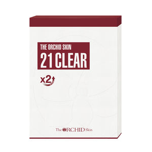 21 Clear Mask [Box of 5] - The ORCHID Skin 디오키드스킨