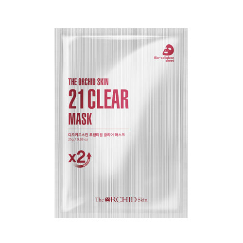 21 Clear Mask - The ORCHID Skin 디오키드스킨