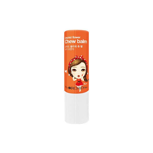 Orchid Flower Chew Balm (Orange)